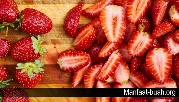 Khasiat Buah Stroberi untuk Kesehatan